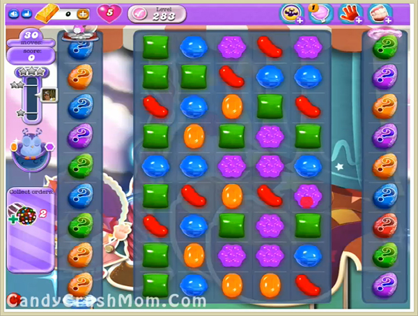 Candy Crush Dreamworld Level 283