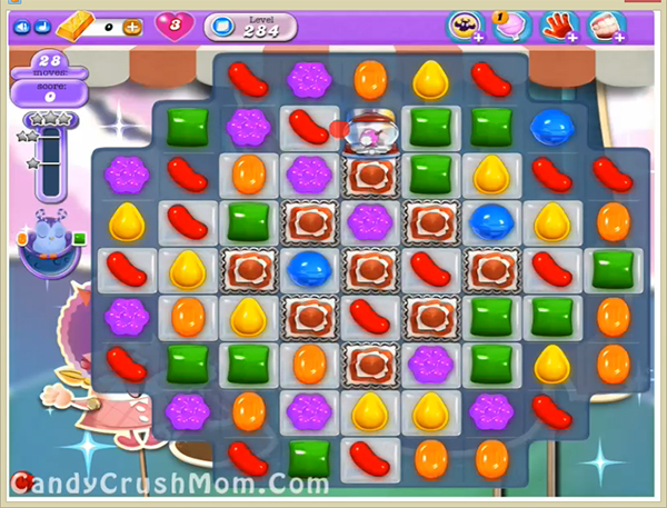 Candy Crush Dreamworld Level 284