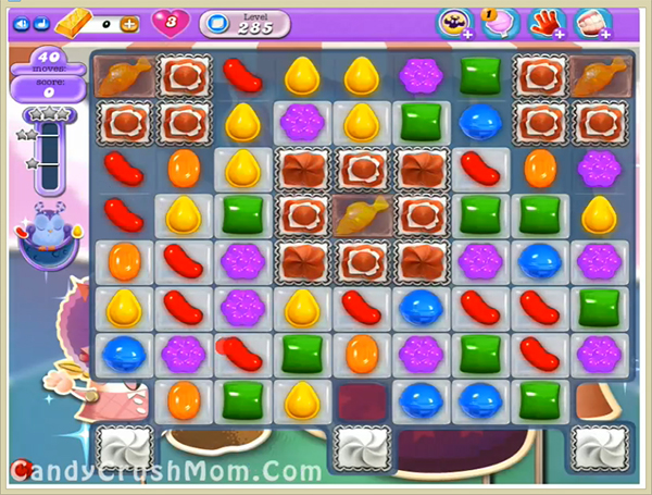 Candy Crush Dreamworld Level 285