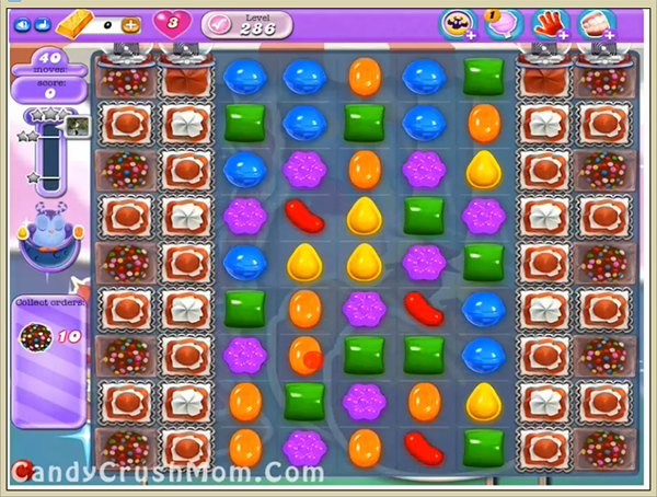 Candy Crush Dreamworld Level 286