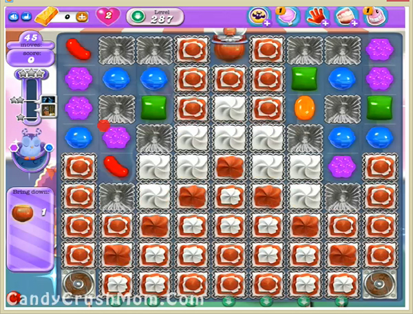 Candy Crush Dreamworld Level 287
