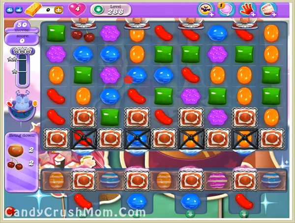 Candy Crush Dreamworld Level 288