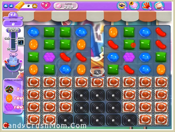 Candy Crush Dreamworld Level 289