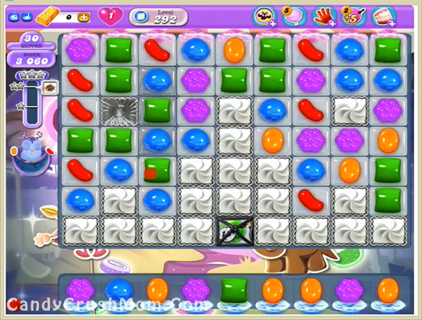 Candy Crush Dreamworld Level 292