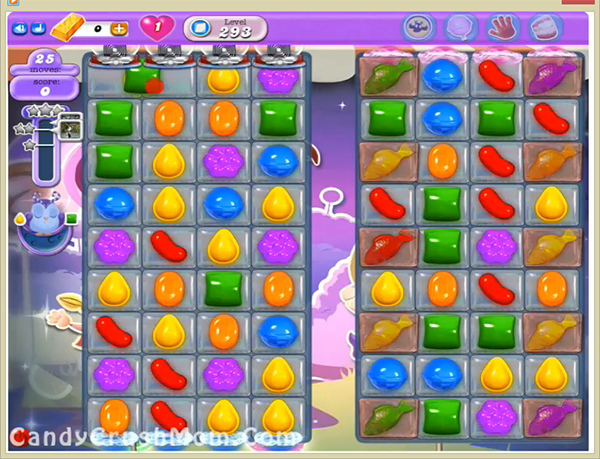 Candy Crush Dreamworld Level 293