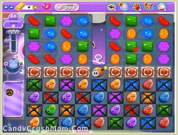 Candy Crush Dreamworld Level 294