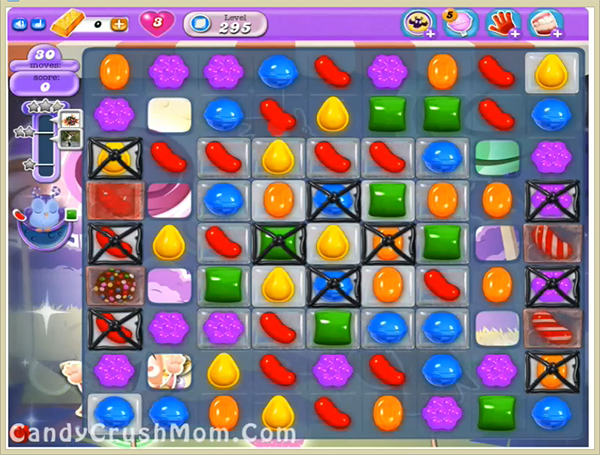 Candy Crush Dreamworld Level 295