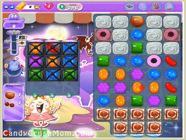 Candy Crush Dreamworld Level 296
