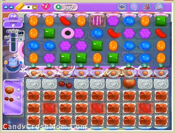 Candy Crush Dreamworld Level 297