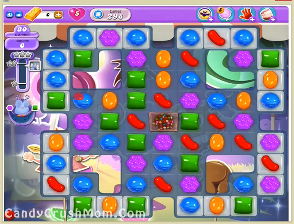 Candy Crush Dreamworld Level 298