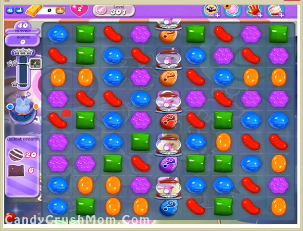 Candy Crush Dreamworld Level 301