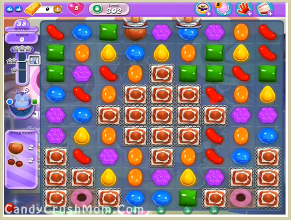 Candy Crush Dreamworld Level 302