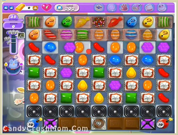 Candy Crush Dreamworld Level 303