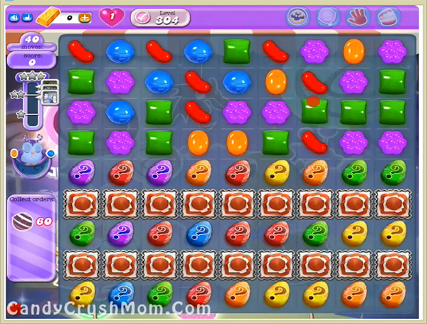 Candy Crush Dreamworld Level 304