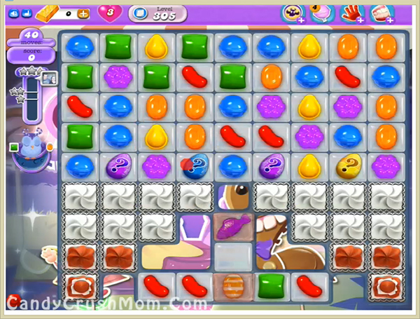 Candy Crush Dreamworld Level 305