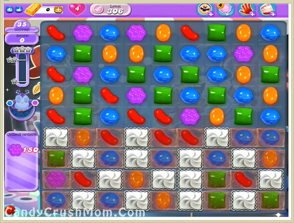 Candy Crush Dreamworld Level 306