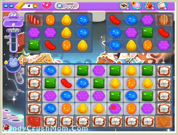 Candy Crush Dreamworld Level 307