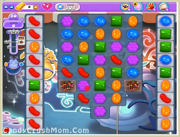 Candy Crush Dreamworld Level 308