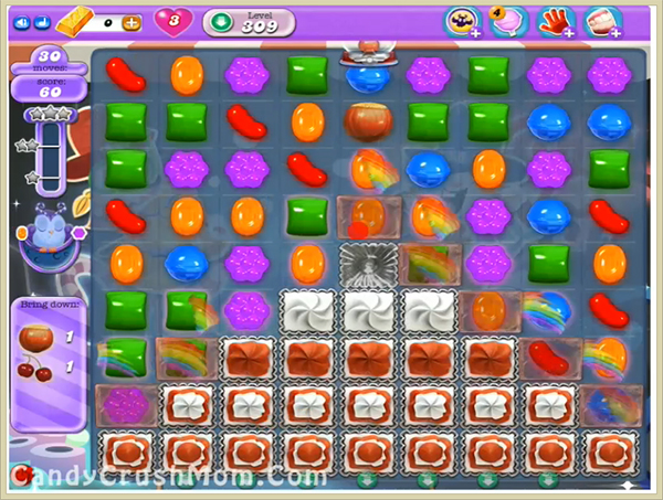 Candy Crush Dreamworld Level 309