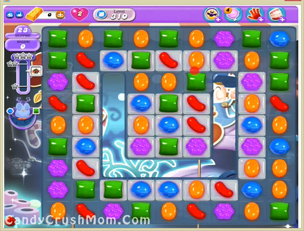 Candy Crush Dreamworld Level 310