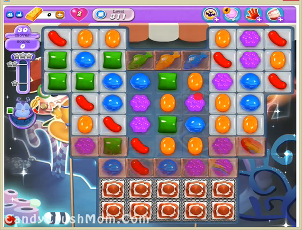 Candy Crush Dreamworld Level 311