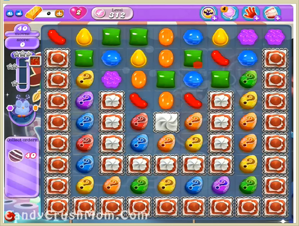 Candy Crush Dreamworld Level 312