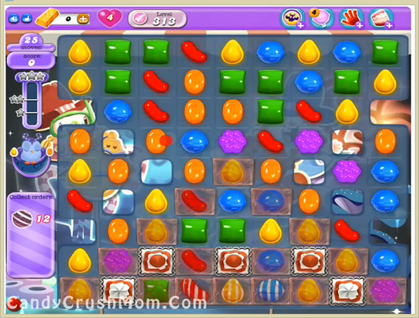 Candy Crush Dreamworld Level 313
