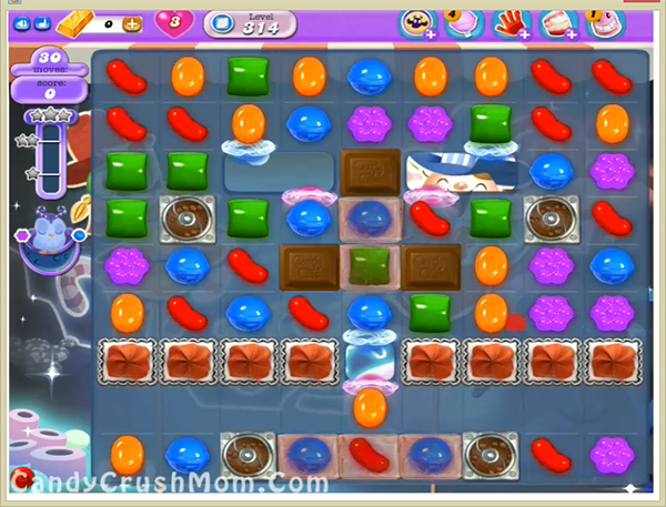 Candy Crush Dreamworld Level 314