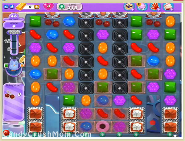 Candy Crush Dreamworld Level 315