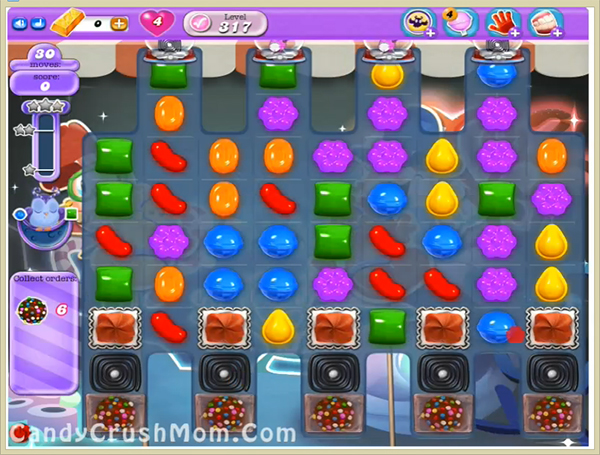 Candy Crush Dreamworld Level 317