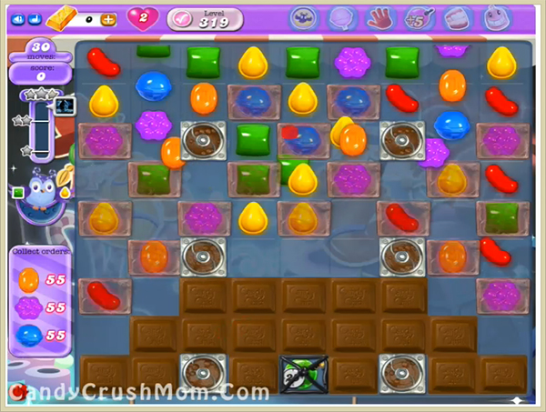 Candy Crush Dreamworld Level 319