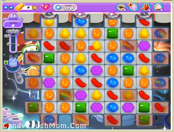 Candy Crush Dreamworld Level 320