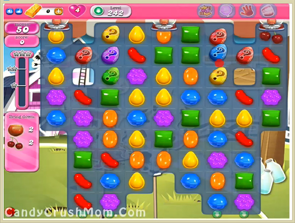 Candy Crush Level 242