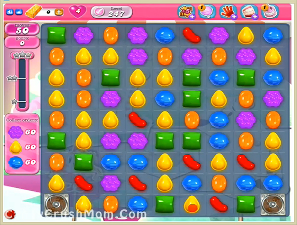 Candy Crush Level 247