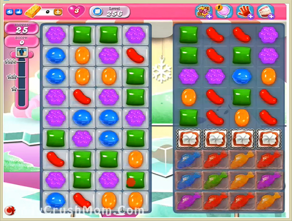 Candy Crush Level 256