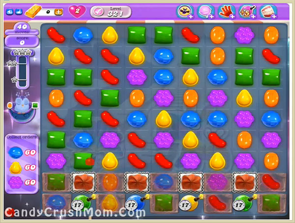 Candy Crush Dreamworld Level 321