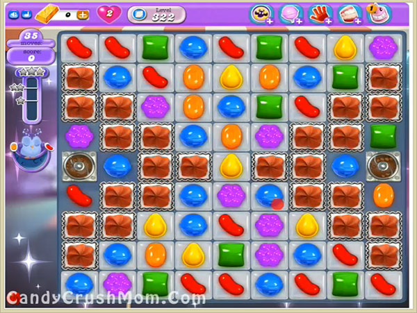 Candy Crush Dreamworld Level 322