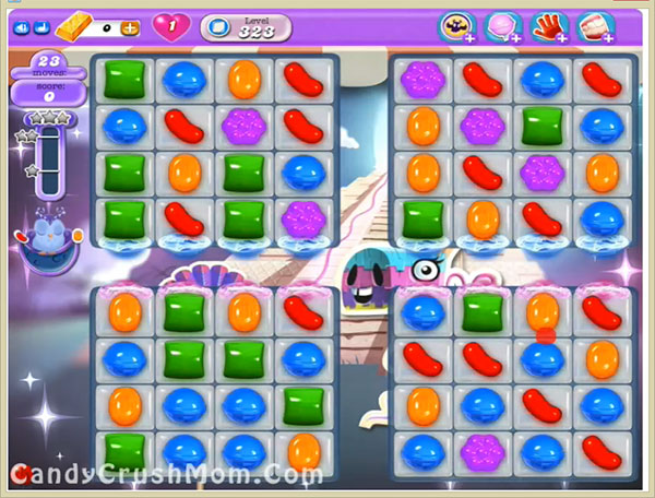 Candy Crush Dreamworld Level 323