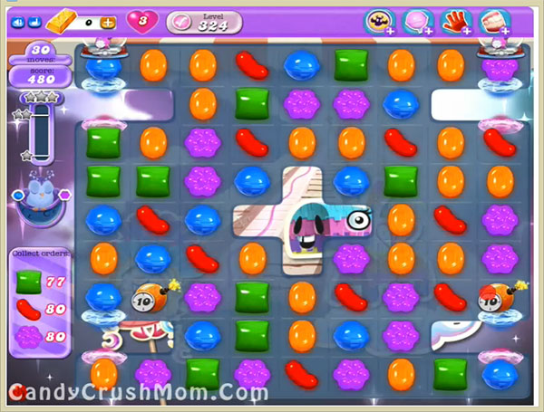 Candy Crush Dreamworld Level 324