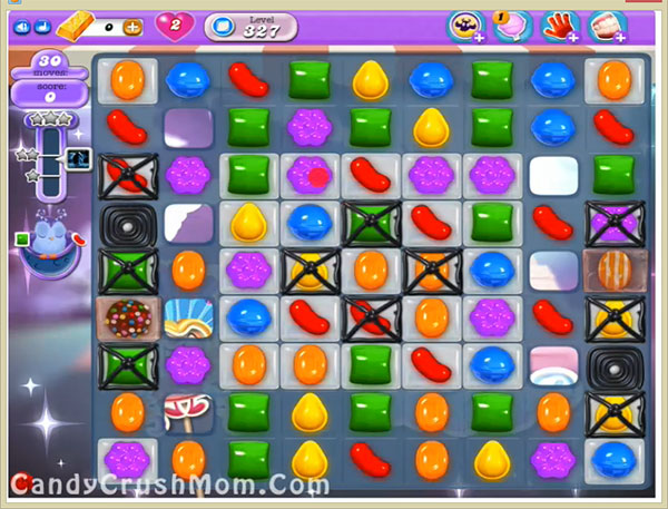 Candy Crush Dreamworld Level 327