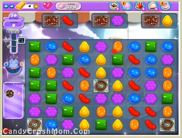 Candy Crush Dreamworld Level 328