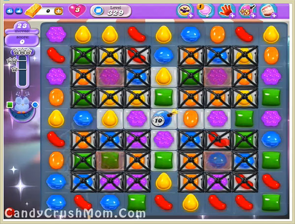 Candy Crush Dreamworld Level 329