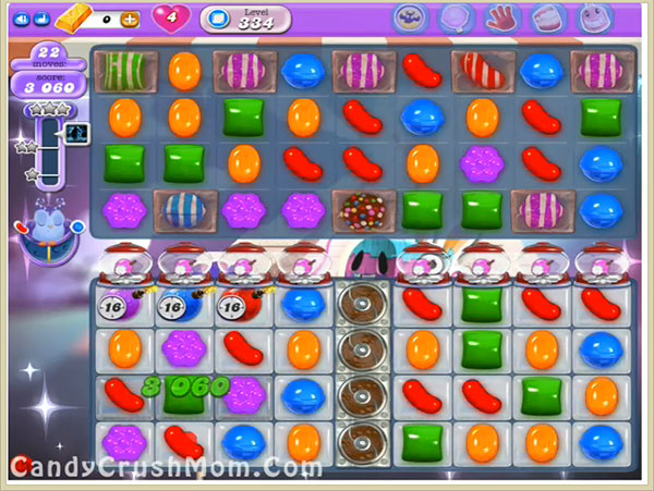 Candy Crush Dreamworld Level 334