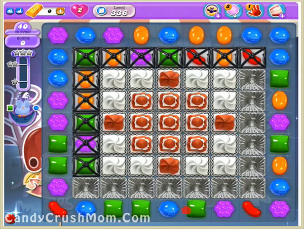 Candy Crush Dreamworld Level 336
