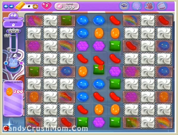 Candy Crush Dreamworld Level 339