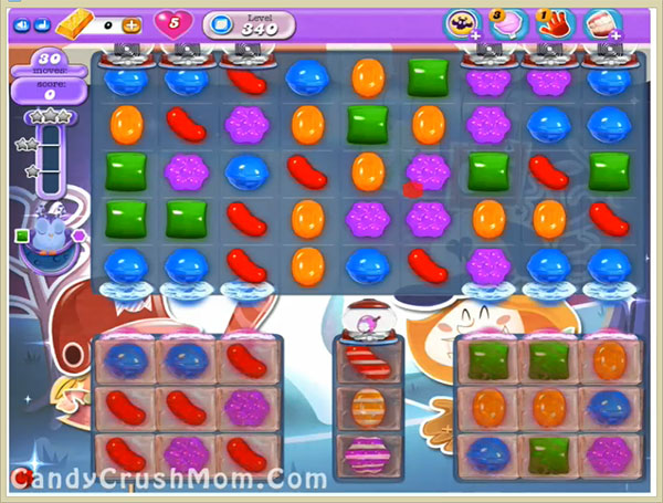 Candy Crush Dreamworld Level 340