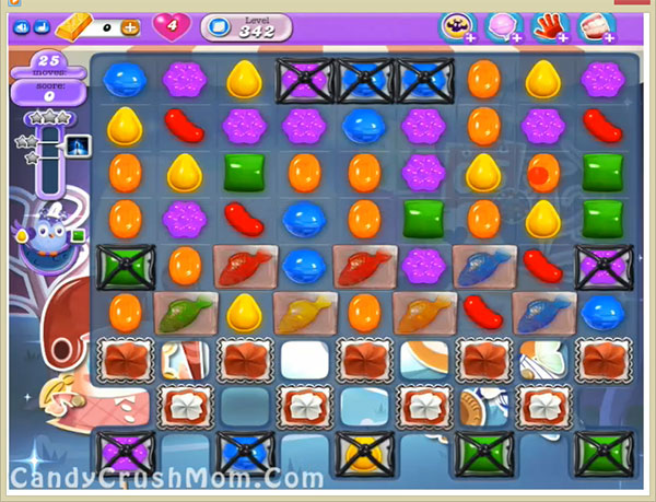 Candy Crush Dreamworld Level 342