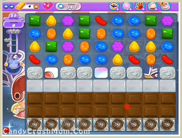 Candy Crush Dreamworld Level 343