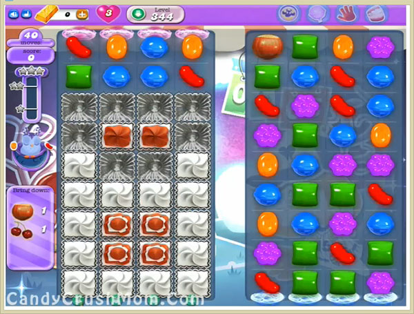 Candy Crush Dreamworld Level 344