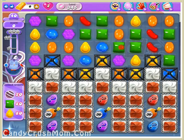 Candy Crush Dreamworld Level 345